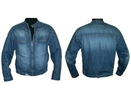 Jaket jeans Denim bordir