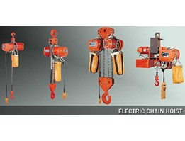 Electric Chain Hoist Overhead Cranes, WireRope, Chain Block