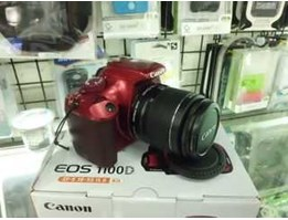 Jual CANON EOS 1100D Kit + EF-S 18-55mm f/ 3.5-5.6 IS