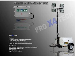 Jual Lighting Tower auto start stop engine