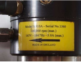 Service Air Bearing Spindle