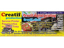 Jual Percetakan & Advertising