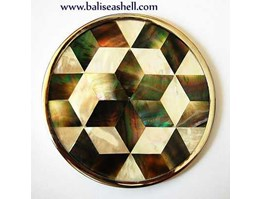 Jual glassware from mother of pearl inlay