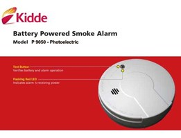 Jual FIRE ALARM SMOKE DETECTOR FIRE SENTRY + 62.21.5330430; 53671197; Photoelectric Independent complete with Battery 9 V, KIDDE model P9050, hubungi elje@ centrin.net.id; Telp : 021.5330430; Fax : 021.53671197. Website : www.elje4firesafety.com