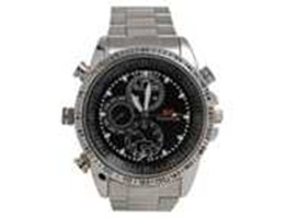 Jual Kamera Pengintai Bentuk Jam Tangan | Spy Watch Camera Water Resisten Stainless | Jam Tangan Kamera 4GB Tahan Air