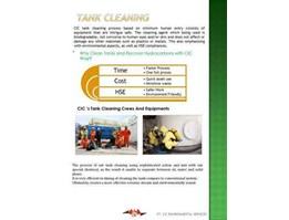 Jual Tank Cleaning & Oil Recovery Services