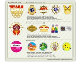 Jual Pin / Name Tag