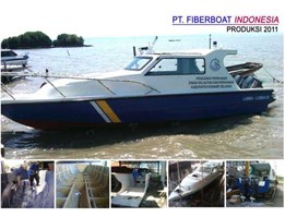 Jual SPEED BOAT PATROLI SERI FBI-0822-XA