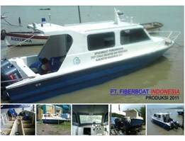 Jual SPEED BOAT PATROLI SERI FBI-0822-XC
