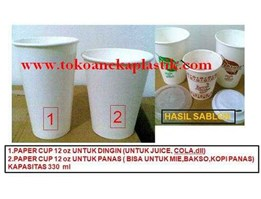 Jual Paper Cup Hot & Cold