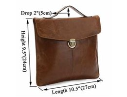 Jual 7073B Cowboy 100% Vintage Leather I-pad Tablet Read Accessorie Holder