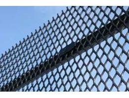 EXPANDED METAL FENCES FENCING SECURITY