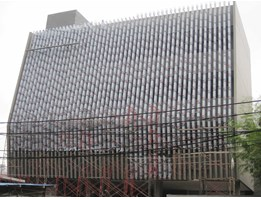 Jual curtain wall cover grill