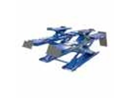 Wheel Alignment Scissor Lift With Auxiliary Lift Heshbon HL-52F