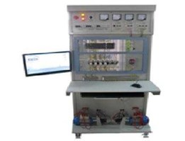 Jual XK-GCZD2 industrial automation training cabinet ( virtual load)