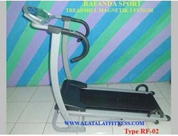 TREADMILL MAGNETIK MANUAL 1 FUNGSI ( TREADMILL MURAH)