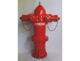 Hydrant Pillar Two Way, ( inlet 4 inc & 6 inc outlet 2, 5 inc & 1, 5 inc) Hydrant Pillar Two Way : Size : 4 inc x 2, 5 inc x 2, 5 inc or 6 inc x 2, 5 inc x 2, 5 inc With Main Valve With Ball Valve Material Body : Cast Iron Pressure max : 2