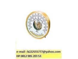 Aneroid Barometer With Thermometer, No. 7610-20, SATO, JAPAN, HP 0813 8758 7112, email : k000333999@ yahoo.com