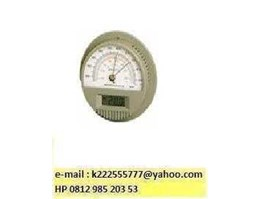 Barometer With Digital Thermometer, No. 7612-00, SATO, JAPAN, HP 0813 8758 7112, email : k000333999@ yahoo.com