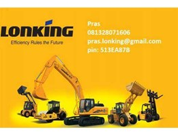 Alat Berat china ( Wheel Loader, Forklift, Excavator, Vibro Roller/ Compactor, Skid steer Loader, Bulldozer, Backhoe Loader