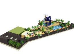 Jual waterboom Grand View Karawaci