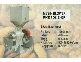 Blower Rice Polisher