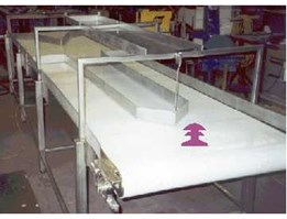 Conveyor system heating, cooling, drying