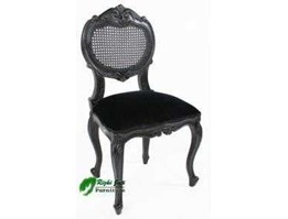 Jual French Noir Dinning Chair l French Furniture l Painted Furniture l Profesioanal company furniture | supplier furniture indonesia