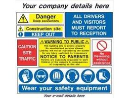 Jual Safety Sign & Safety Sign Board