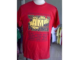 Jual Kaos Welcome to Jambi