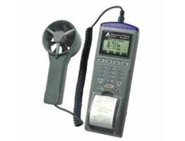 Jual AZ9871 Anemometer Printer