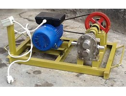 MESIN GEARPUMP ( POMPA OIL )