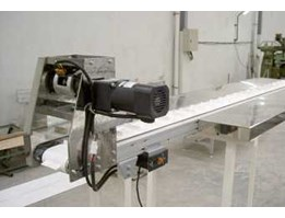 Belt Conveyor with clutch and brake