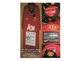 Jual jersey Manchester United Home 2012/ 2013