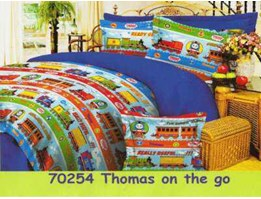 Jual Sprei dan Bed Cover Thomas On The Go