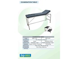 Jual Examination Table Stainless Steel - Meja Periksa