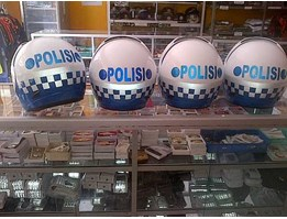 Jual HELM POLANTAS doble face