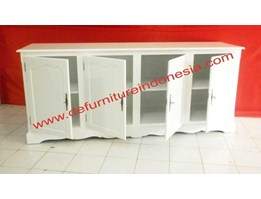 Jual Buffet 4 Pintu, indonesia furniture, painted furniture | defurnitureindonesia DFRIBU-24