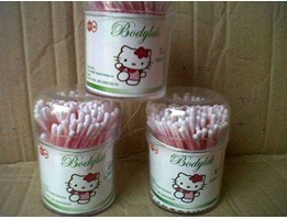 Jual Bodylab Pot Cotton Buds For Adult or Baby ( 50, 75, 100, dan 150 stick)