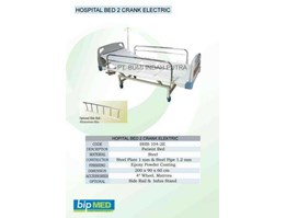 Jual Hospital Bed 2 Crank Elektric