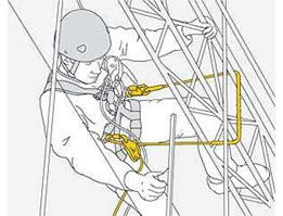 Work Positioning lanyard A Stabil