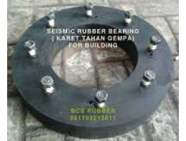 Seismic Rubber Bearing | Karet Anti Gempa