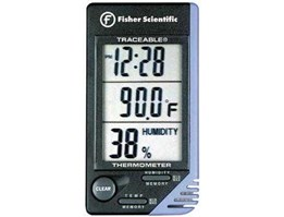 Traceable; Thermometer/ Clock/ Humidity Monitor