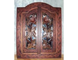 Wall mirror rono batik original