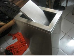 STANDING ASHTRAY STAINLESS | STANDING ASHTRAY TUTUP SWING | STANDING ASHTRAY KOTAK | STANDING ASHTRAY TUTUP GOYANG