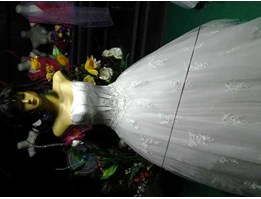 Jual wedding dress