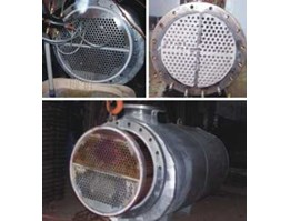 CLEANING - RETUBING -REPAIR SHELL & TUBE HEAT EXCHANGER