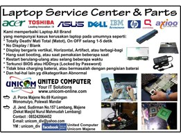 Jual LAPTOP SERVICE CENTER & PARTS