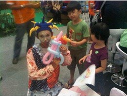 BADUT BALON MAGIC, SEWA BADUT BALON MAGIC/ BALLOON TWISTER, BALON KREASI