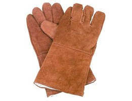 Jual WELDING GLOVES 14 INCH BROWN